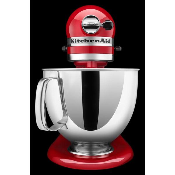 Brand Red KitchenAid KSM150PSER 325 Watts 5 Quart Tilt Head Stand Mixer