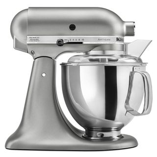KitchenAid KSM150PSER Empire Red 5-quart Artisan Tilt-Head Stand Mixer with $50 Rebate