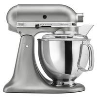 KitchenAid KSM150PSER Empire Red 5-quart Artisan Tilt-Head Stand Mixer
