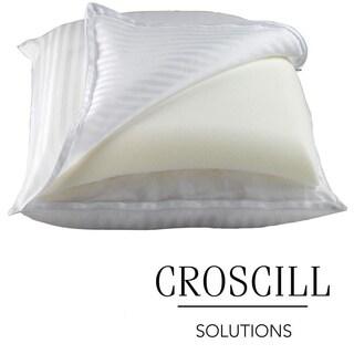 Croscill 2-in-1 Memory Foam/ Down Alternative Pillow