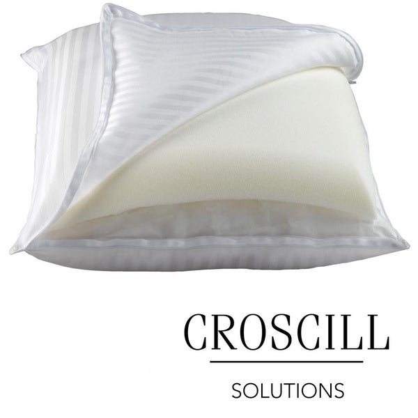 Croscill 2-in-1 Memory Foam/ Down Alternative Pillow