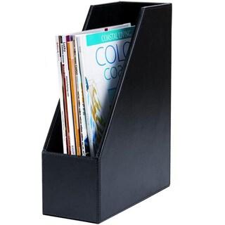 Dacasso 3200 Series Leather Magazine Rack
