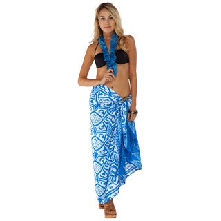 1 World Sarongs Women's Abstract Tribal Sarong (Indonesia)