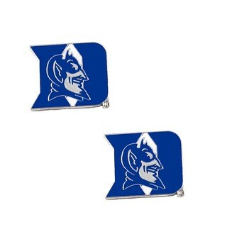 Duke Blue Devils Post Stud Logo Earrings