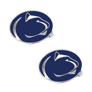 NCAA Penn State Nittany Lions Post Stud Logo Earrings