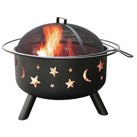 Big Sky Outdoor Fire Pit-Shallow