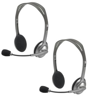 Logitech H110 Headset Bulk Package (Pack of Two)