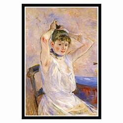 Cassatt 'The Bath' Framed Art Print