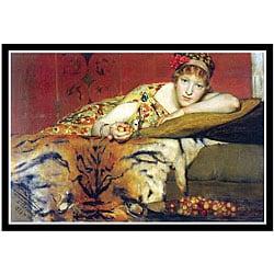 Alma-Tadema 'A Craving for Cherries' Framed Print Art