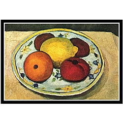 Paula Modersohn-Becker 'Still Life Fruit' Framed Print Art