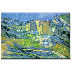 Paul Cezanne 'House in Provence' Canvas Art