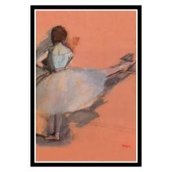 Edgar Degas 'Ballet Dancer' Framed Art Print