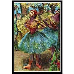 Edward Degas 'Ballet Dancers' Framed Print
