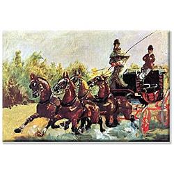 Toulouse-Lautrec 'Count Alphonse' Canvas Art