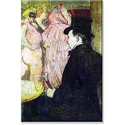 Toulouse-Lautrec 'Maxim Dethomas' Canvas Art