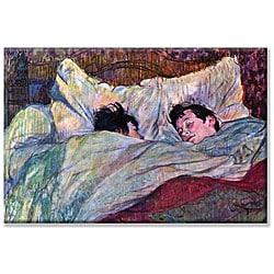 Toulouse-Lautrec 'Sleeping' Canvas Art