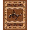 The Lodge Cowboy Southwestern Rug - 5' x 8'