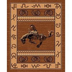 The Lodge Cowboy Southwestern Rug (8' x 11')