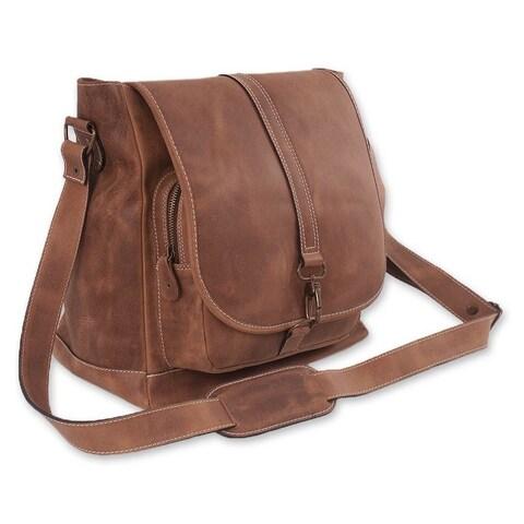 Leather 'Crazy Summer' Shoulder Bag (Mexico)