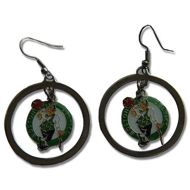 Boston Celtics Hoop Logo Earring Set