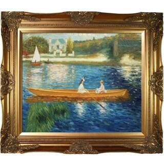 Renoir 'Boating on the Seine' Canvas Art
