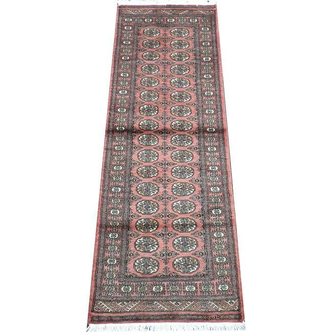 Shop Handmade Herat Oriental Pakistani Bokhara Wool Runner