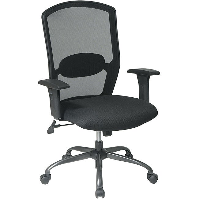 Office Star Mesh Seat and Screen Back Chair