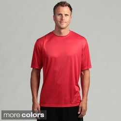 Men's Performance Moisture Wicking Short-Sleeve Crew Shirt