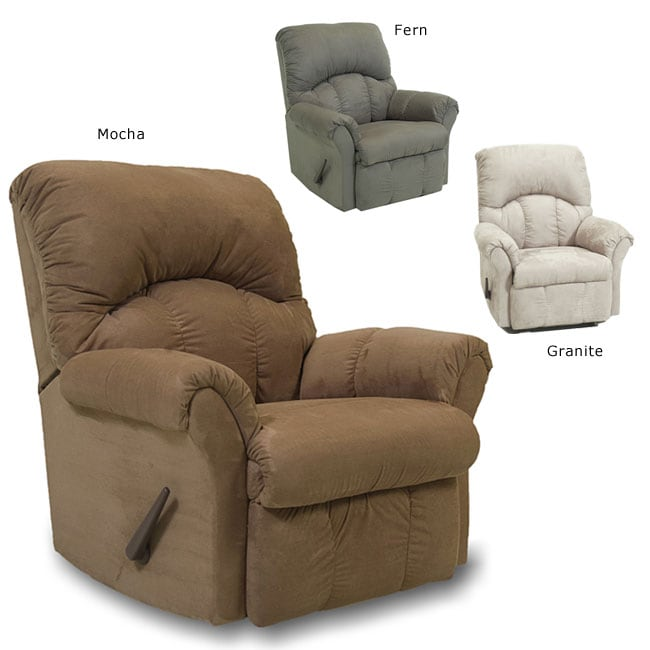 Microfiber Rocker Recliner Free Shipping Today