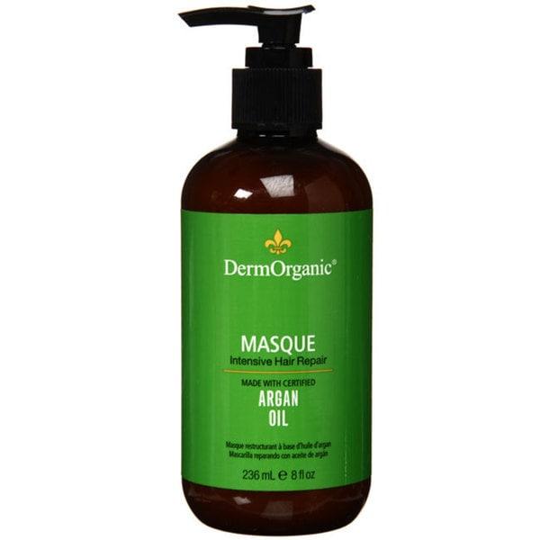 Derm Organic Intesive Hair Repair Argan Oil 8-ounce Masque