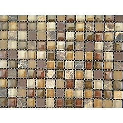 Terra Mix 12-inch Wall Tile Sheets (Pack of 11)