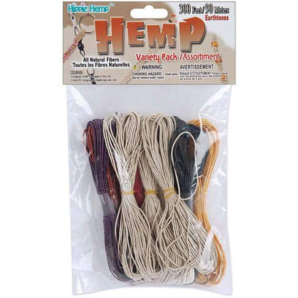 Earth Tone 300-foot Hemp Variety Pack