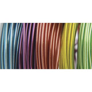 Plastic-coated 22-gauge 9-foot Translucent Coil Wire (Pack of 5)|https://ak1.ostkcdn.com/images/products/4847346/P12735007.jpg?impolicy=medium