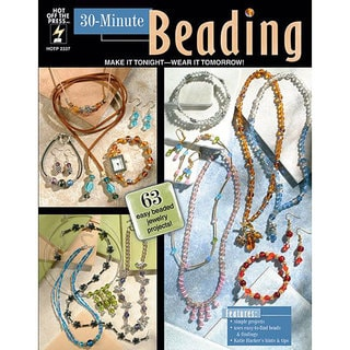 Hot Off The Press '30-Minute Beading' Book