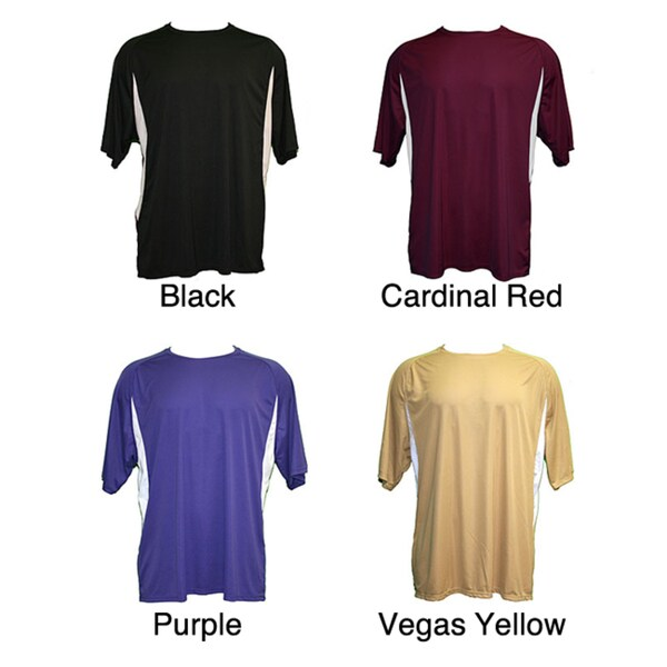 Cooling Performance Color Blocked Crew Shirt