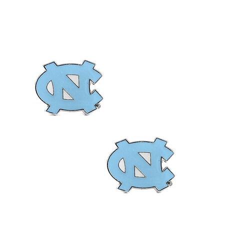 NCAA North Carolina Tarheels Logo Stud Earrings