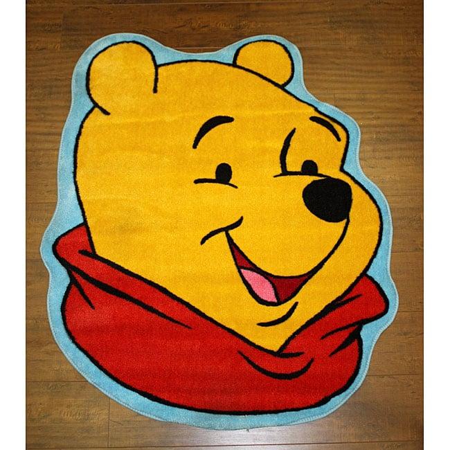 Disneyu0027s Winnie The Pooh Yellow Rug ...