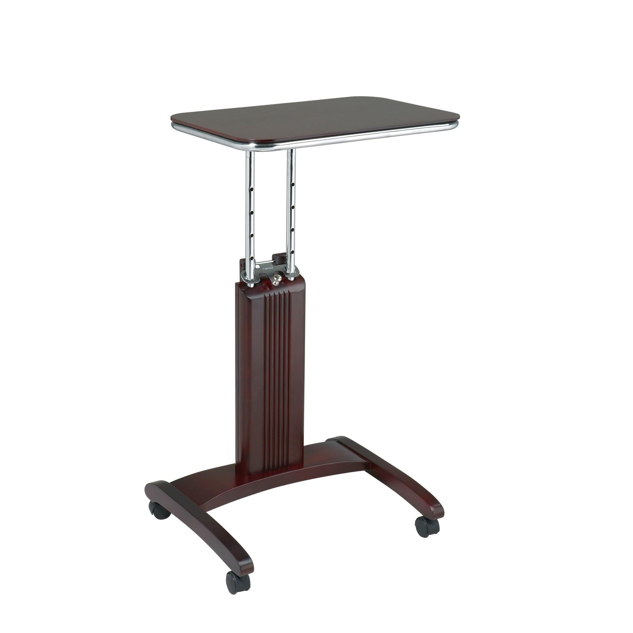Office Star Wood Veneer Laptop Table (Espresso), Brown