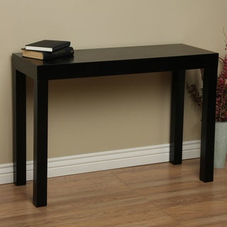 Clay Alder Home Lachlan Glossy Black Sofa Table