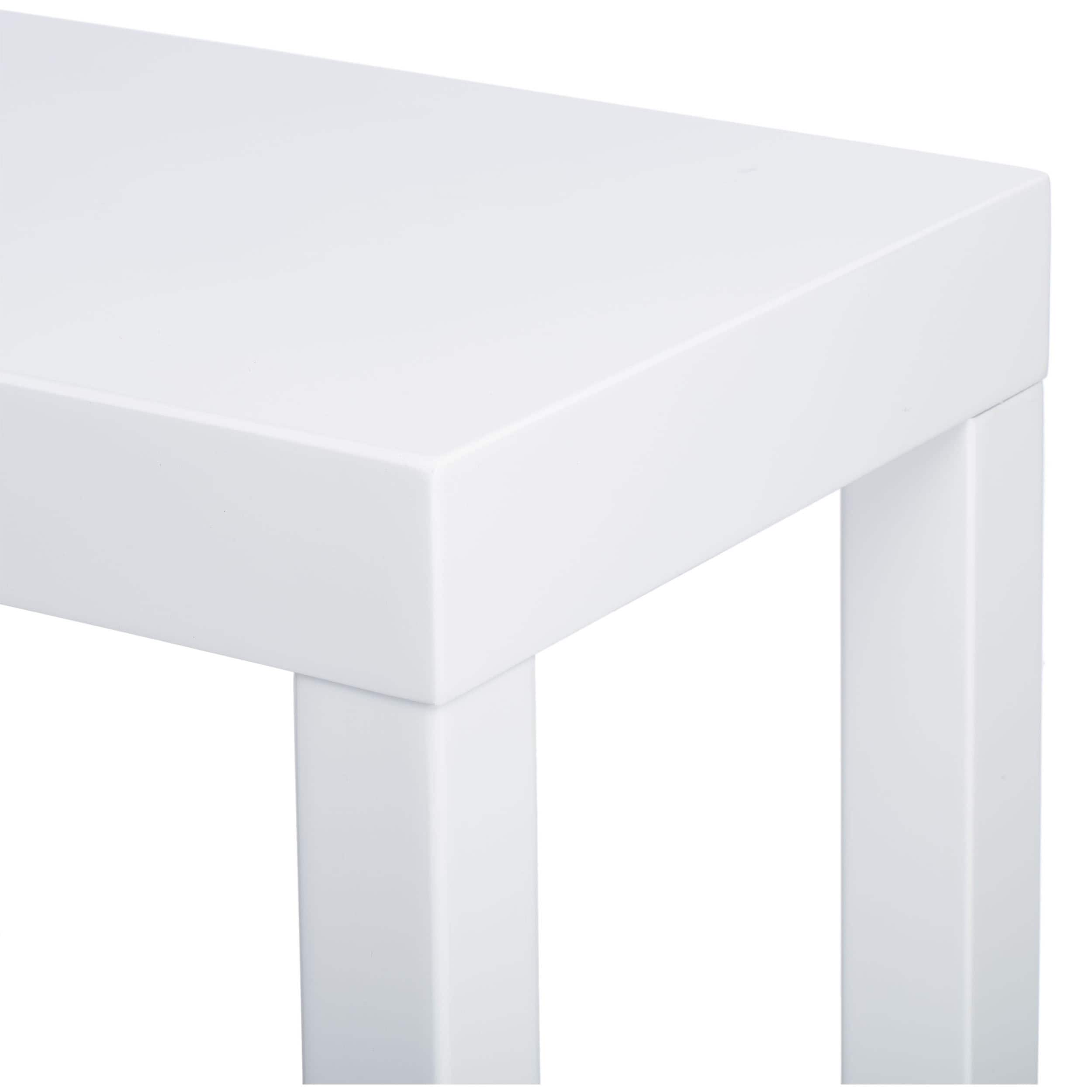 Lachlan Glossy White Sofa Table Great Home Decor In 2018