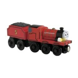 Thomas Wooden Railway 'Talking James' Toy Train - Thumbnail 1
