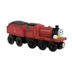 Thomas Wooden Railway 'Talking James' Toy Train - Thumbnail 2