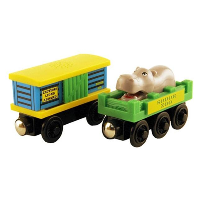 Thomas Wooden Railway Zoo Car Toy Trains Pack Of 2