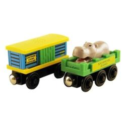Thomas Wooden Railway 'Zoo Car' Toy Trains (Pack of 2) - Thumbnail 1