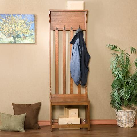 Buy Coat Rack Bench Online At Overstock Our Best Living