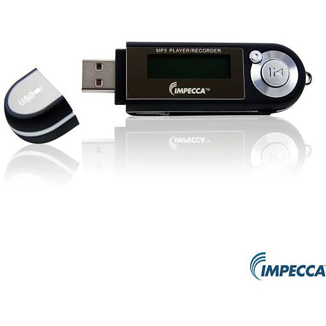 Impecca MP-1402F Black 4GB MP3 Player