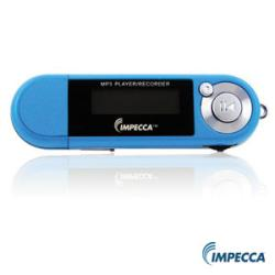 Impecca MP-1402F 4GB MP3 Player with FM Tuner