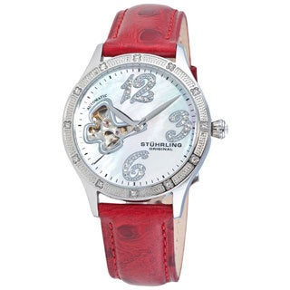 Stuhrling Original Women's 'Audrey' Automatic Watch Gift Set