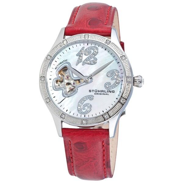 Stuhrling Original Women's 'Audrey' Automatic Watch Gift Set