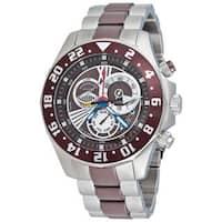 Stuhrling Original Men's Nautico Dual Time Zone Watch